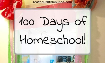 Fun Activities For Your 100th Day of Homeschool!