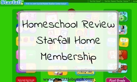The Starfall Home Membership – A Homeschool Review