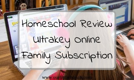 Ultrakey Online Family Subscription | A Homeschooler Review