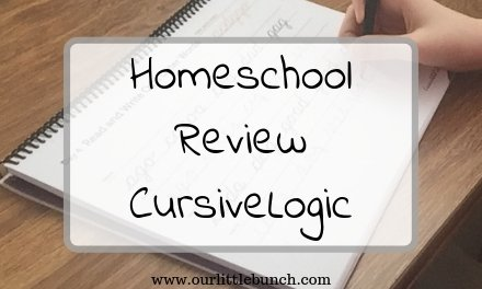 CursiveLogic – A Homeschool Review
