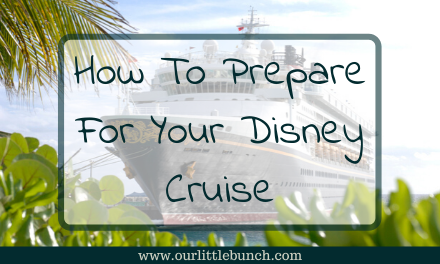How To Prepare For Your Disney Cruise
