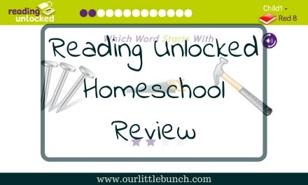 Reading Unlocked – Homeschool Review