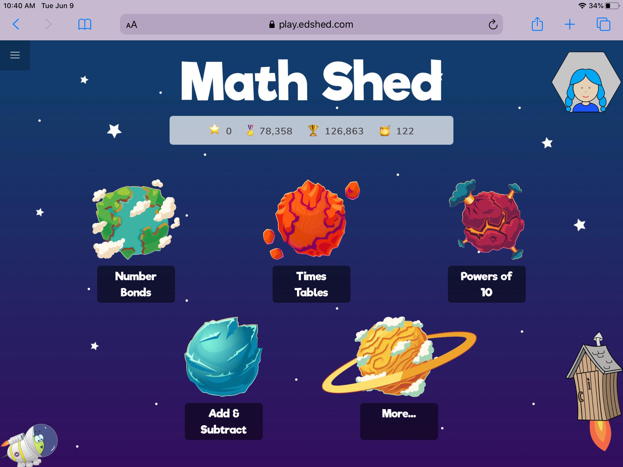 Math Shed