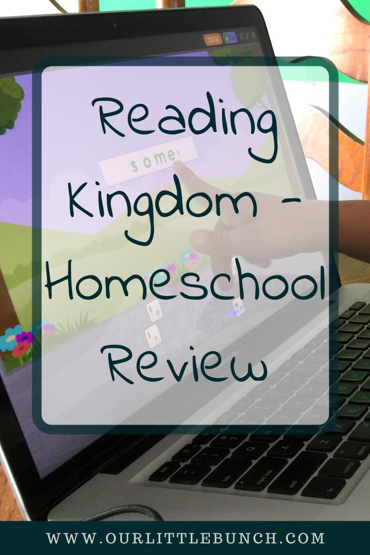 Reading Kingdom - Homeschool Review