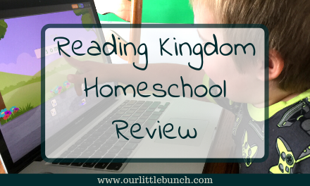 Reading Kingdom – Homeschool Review