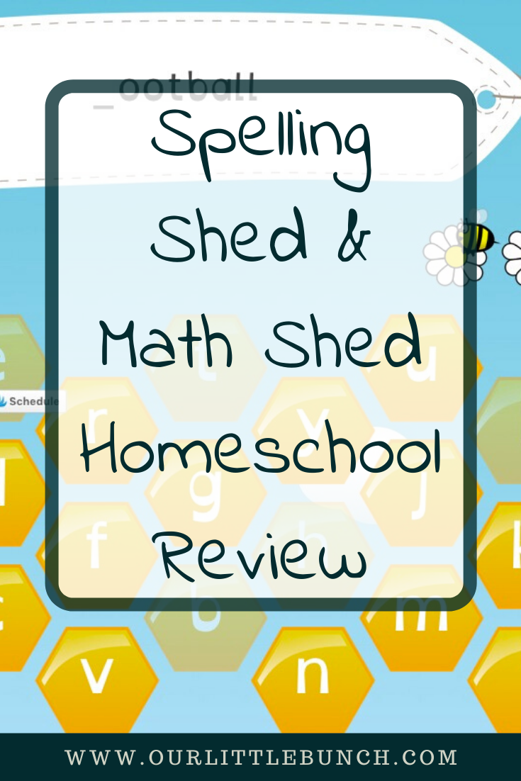 Spelling Shed & Math Shed Homeschool Review