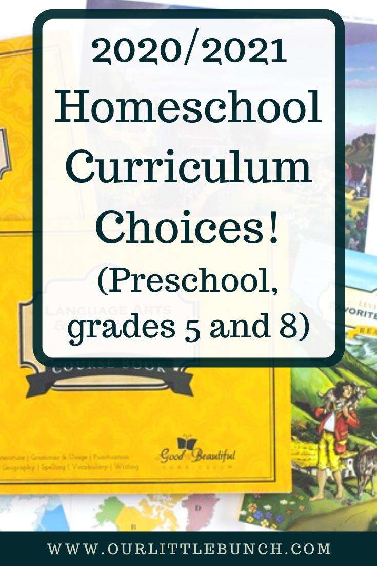 2020_2021 Homeschool Choices Pin