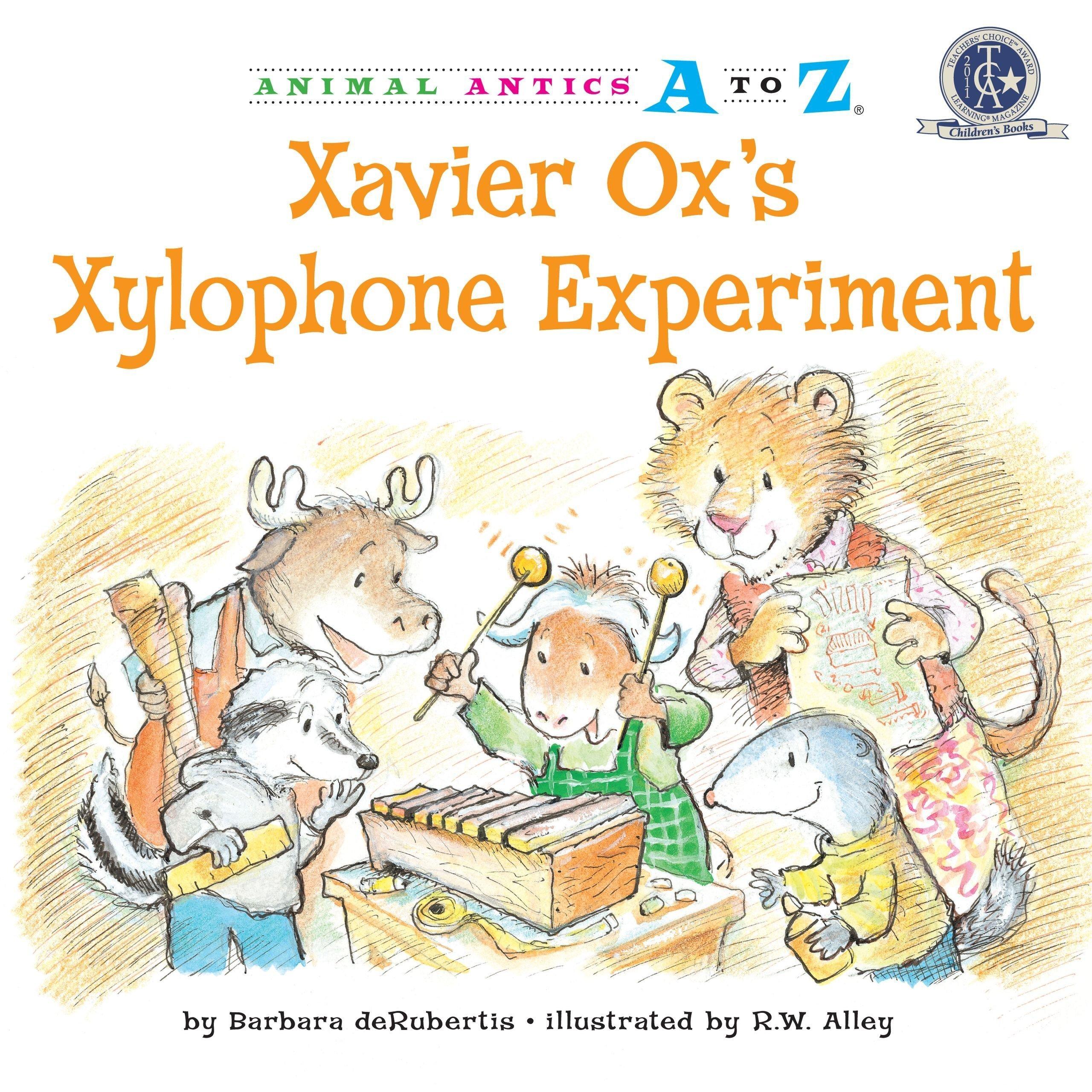 Xavier Ox's Xylophone Experiment Book