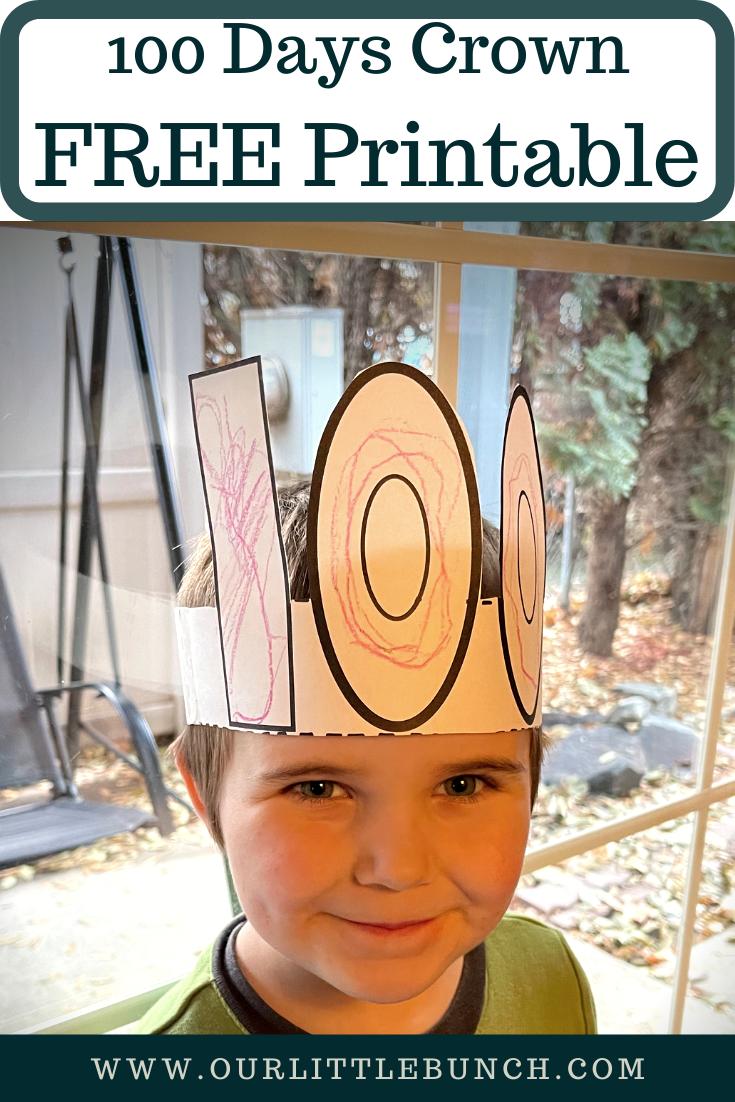 100 Days Crown Pin Image