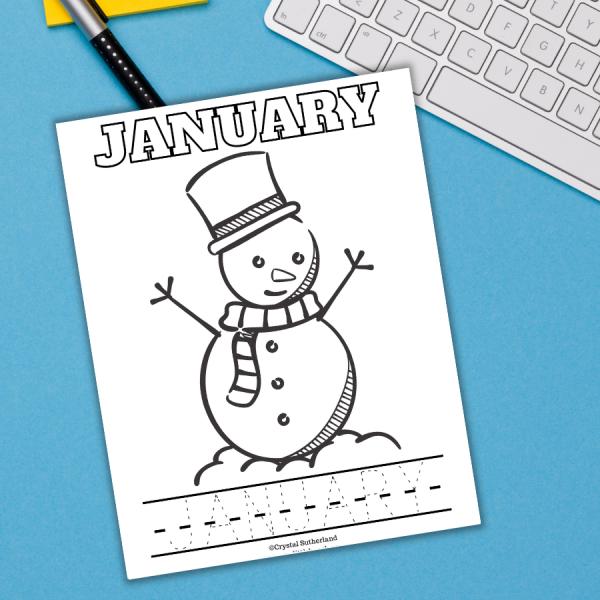 January Freebie Printable