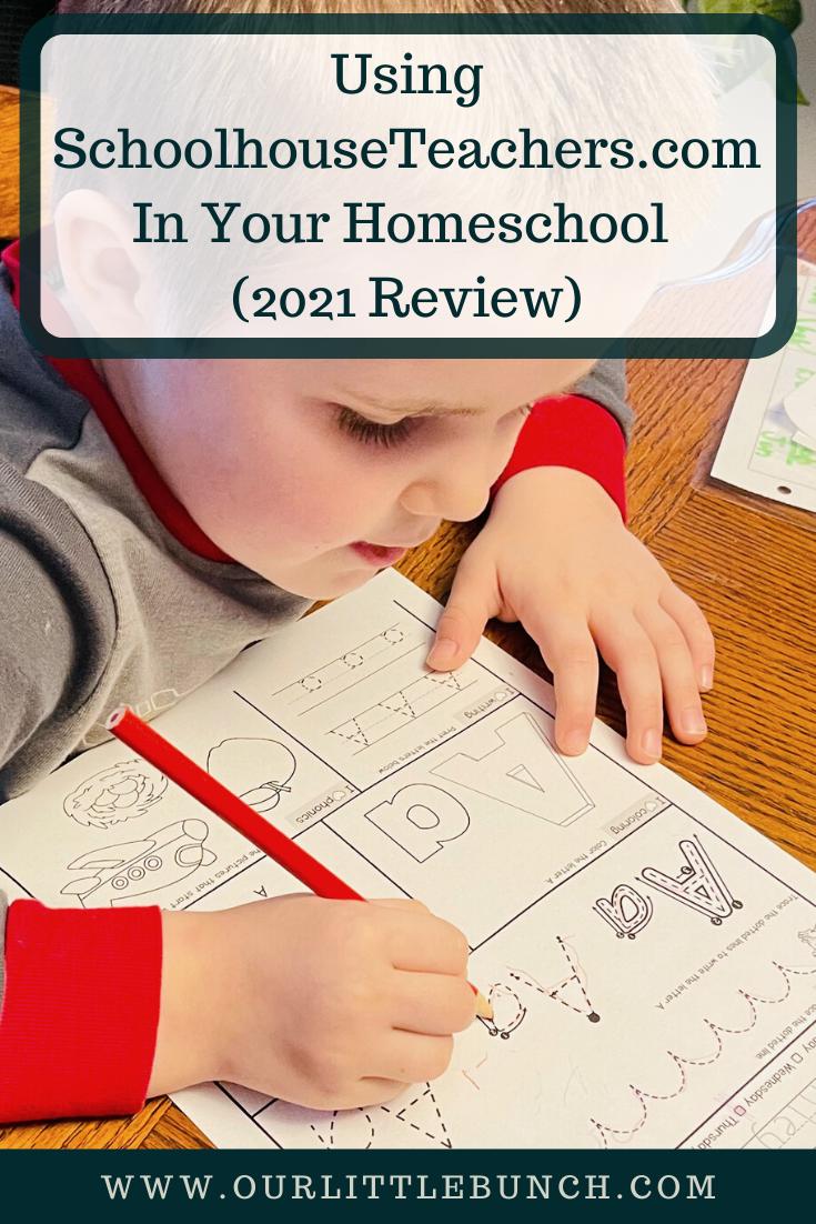 Using SchoolhouseTeachers.com In Your Homeschool (2021 Review) Pin
