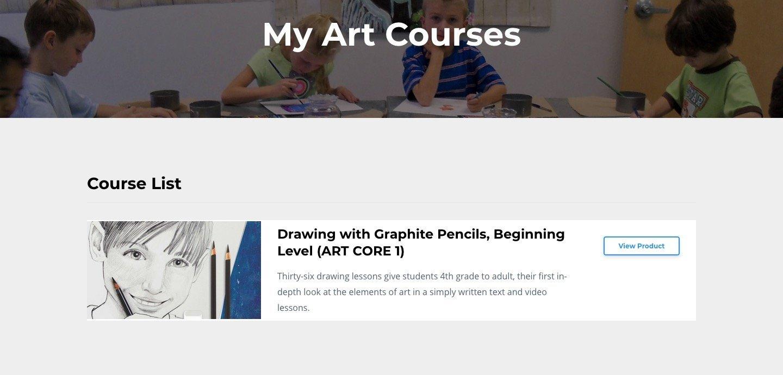 ARTistic Pursuits Course Page