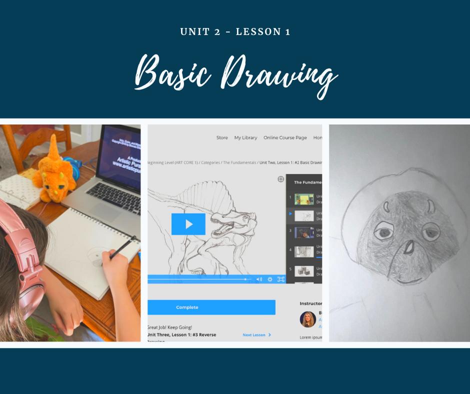 Unit 2 - Lesson 1 - Basic Drawing