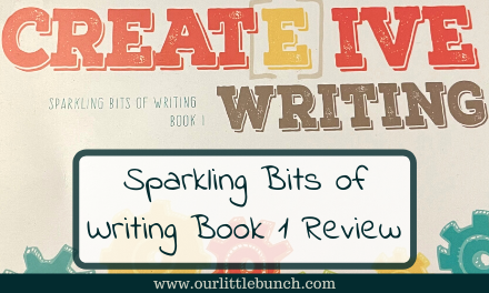 Sparkling Bits of Writing Book 1 from Creative Word Studio – Review