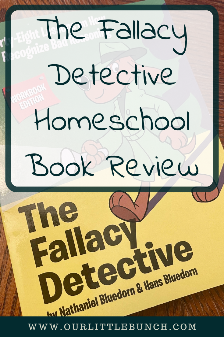 Fallacy Detective Homeschool Book Review